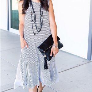 Zara dress with pockets.
